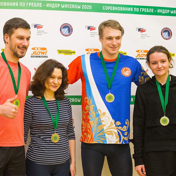 Результаты первого этапа Московского Кубка Way2Row по гребле — индор 2021