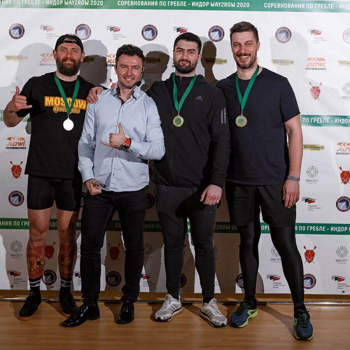 Результаты пятого этапа Московского Кубка Way2Row по гребле — индор 2021